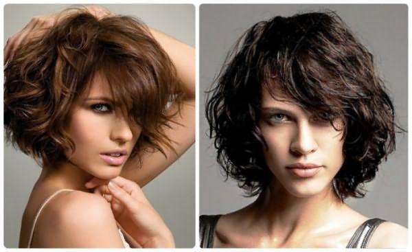 Волнистые прически на короткие волосы