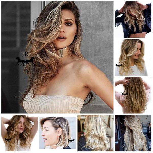 Как покрасить красиво длинные волосы