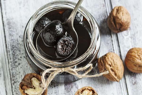Варенье из грецких орехов