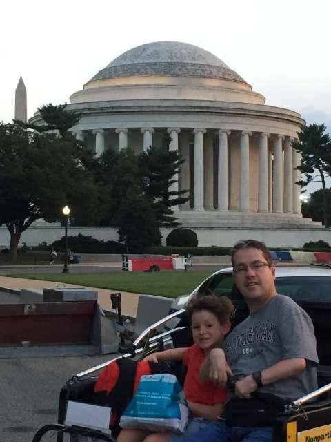 Jefferson Memorial Handicap Parking