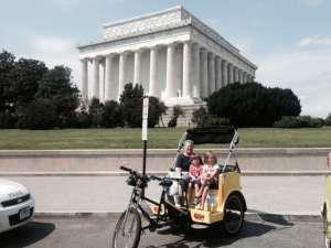 Lincoln Memorial Handicap Parking
