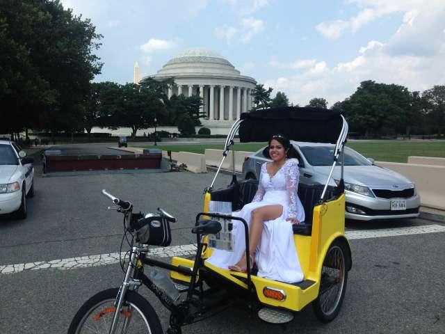 Washington DC Wedding Photos at the Jefferson Memorial