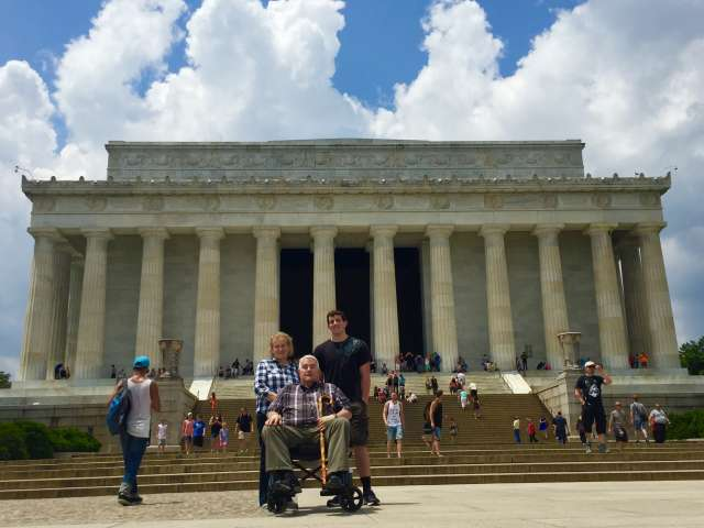 Disabled Access at the Lincoln Memorial