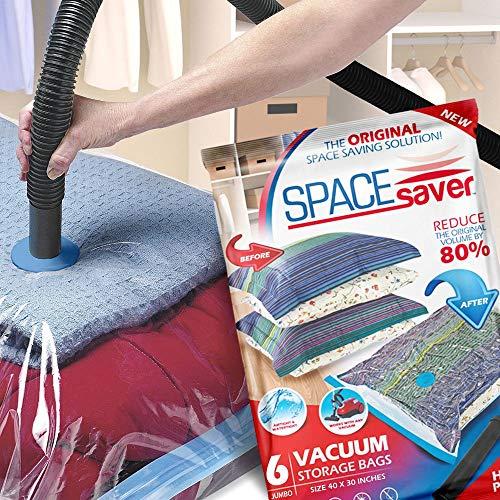 Vacuum sealing clothes