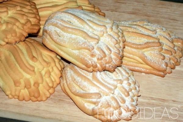 Печенье хризантема рецепт