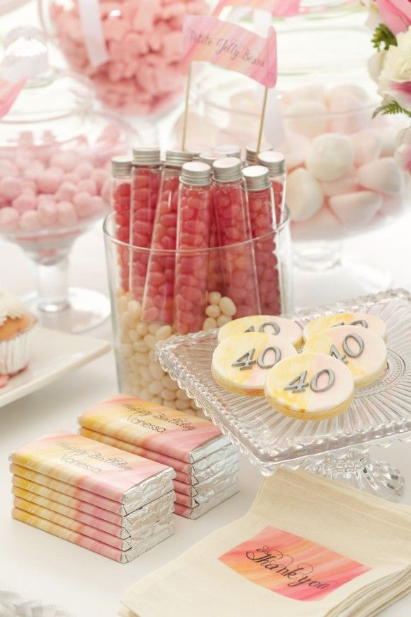 Pink party favors for adults