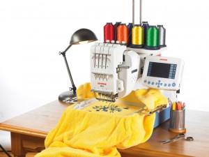 Вышивание на машинке как домашний бизнес