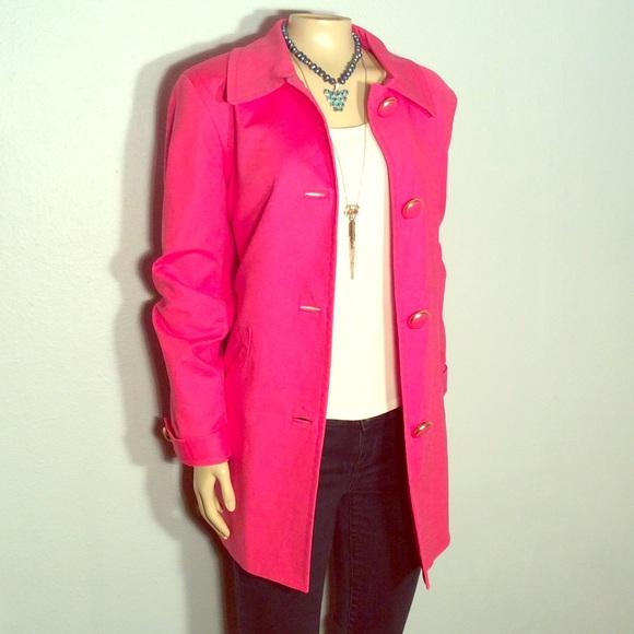 Jones new york pink coat
