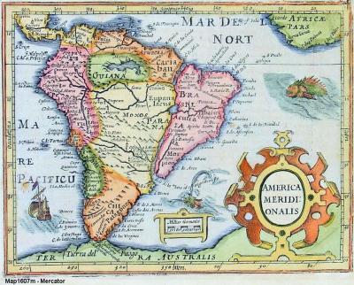 South America 1607
