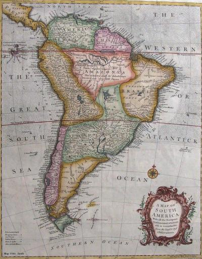 South America 1744