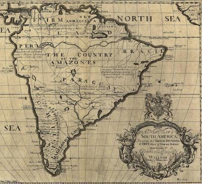 South America 1700