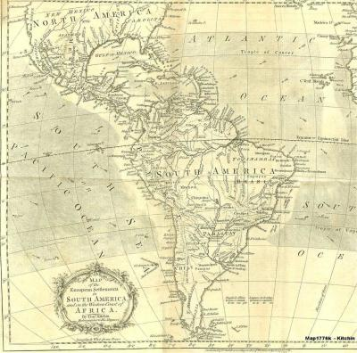 South America 1776