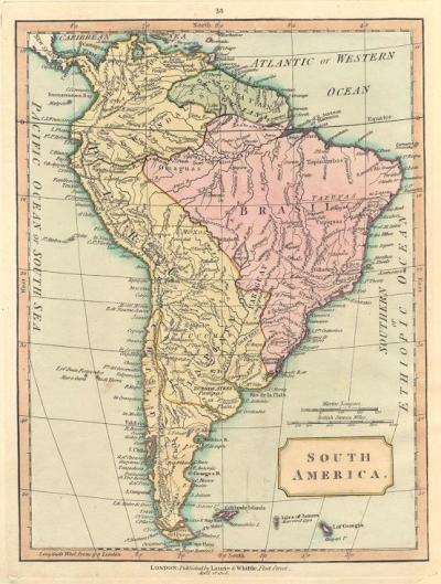 South America 1808