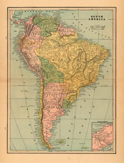 South America 1899
