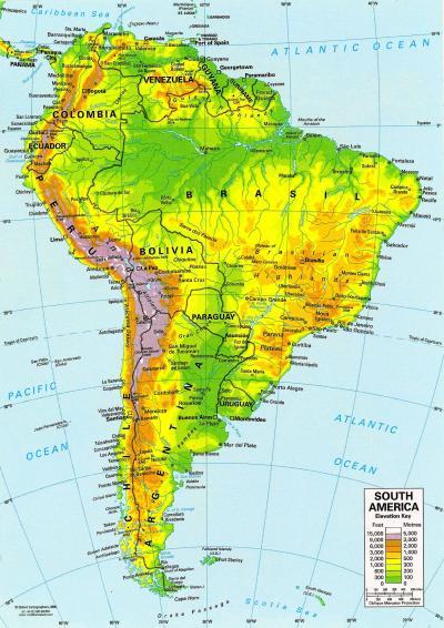 South America 2000