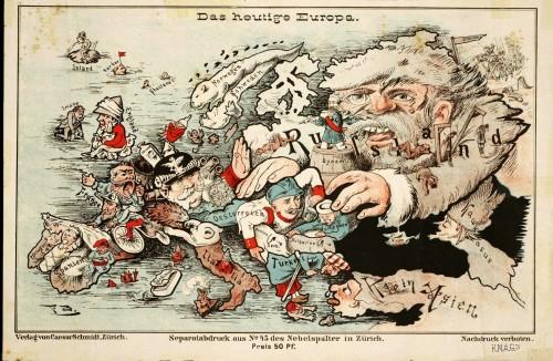 Europe satirical, 1887