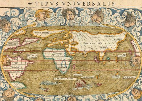 World Map, 1542