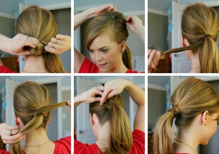 Прически для волос до плеч в домашних условиях