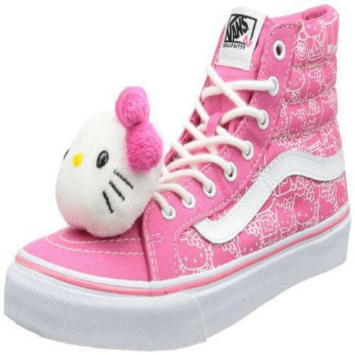 Hello kitty pink vans