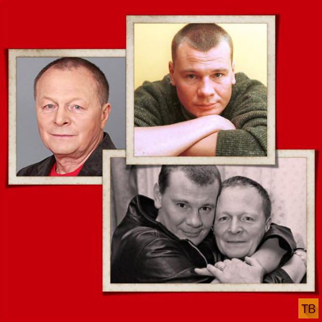 Известные российские актеры и их знаменитые родители (14 фото)