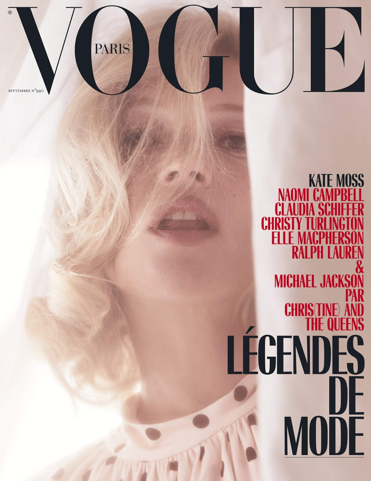 Kate moss vogue cover 1993