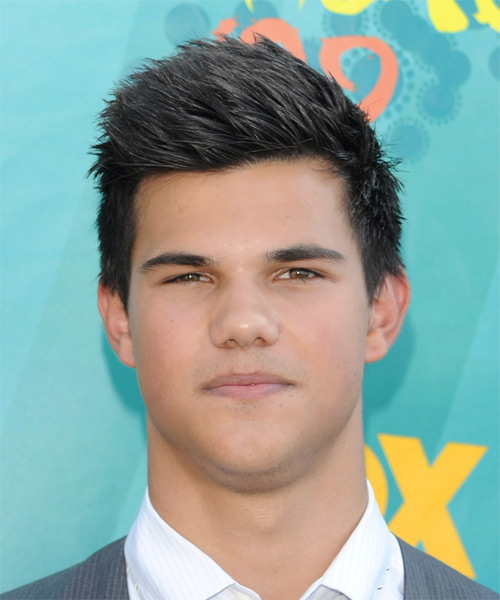 Taylor Lautner Short Straight   Dark Ash Brunette   Hairstyle