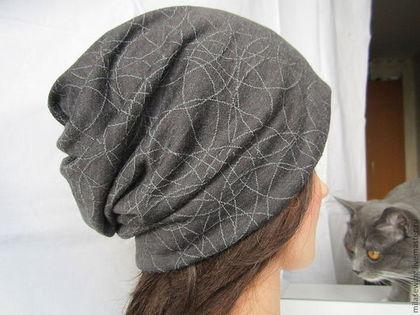 Как сшить шапку из трикотажа своими
