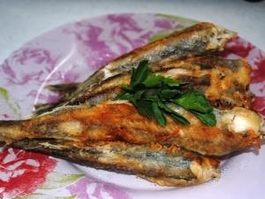 Рыба жареная путассу