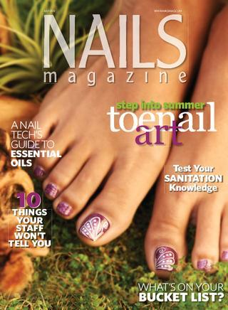 Nails magazine july 2012