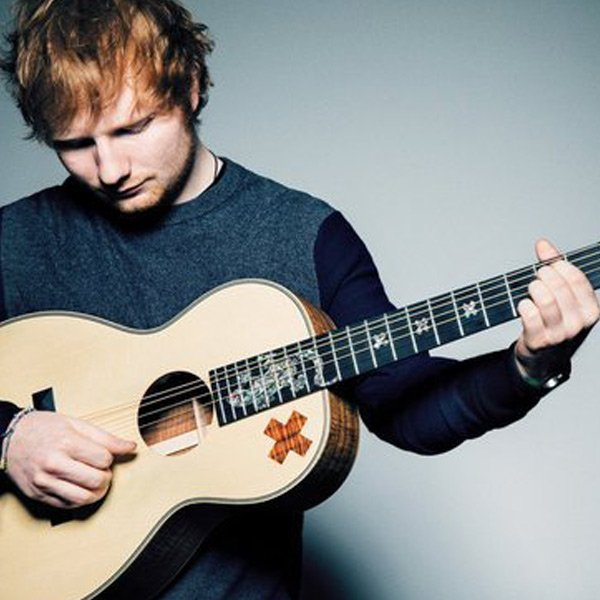 Guitar used by ed sheeran