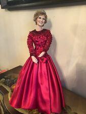The Ashton Drake Galleries Diana The World's Beloved Rose Princess Diana Doll