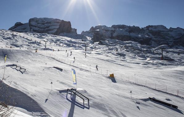 Madonna di campiglio snow park