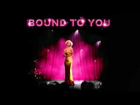 Christina aguilera bound to you instrumental