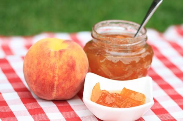 Варенье из сливы и персиков