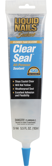 Liquid nails clear sealant