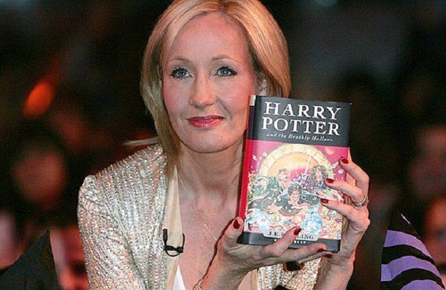 Illuminati celebrities - JK Rowling