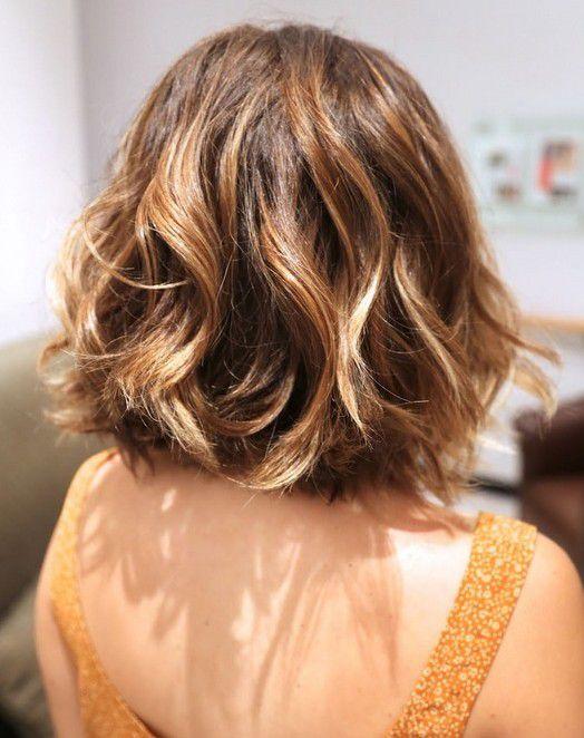 легкие прически на кудрявые волосы