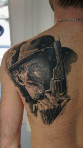 Значение татуировки ковбой