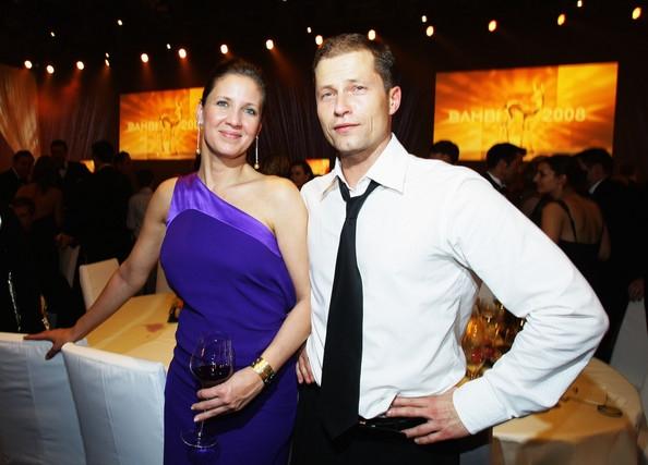 Тиль Швайгер и его бывшая жена Дэна Карлсен: фото