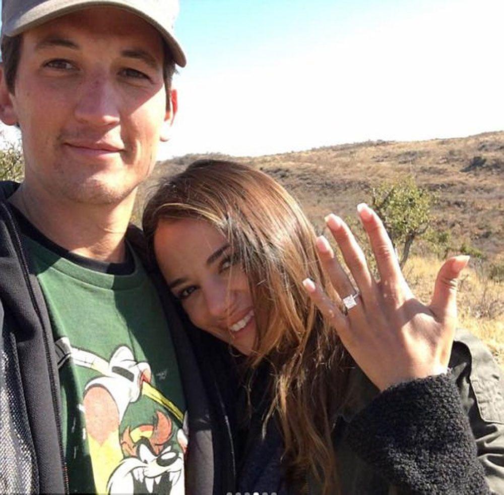 Celebrities dating regular people