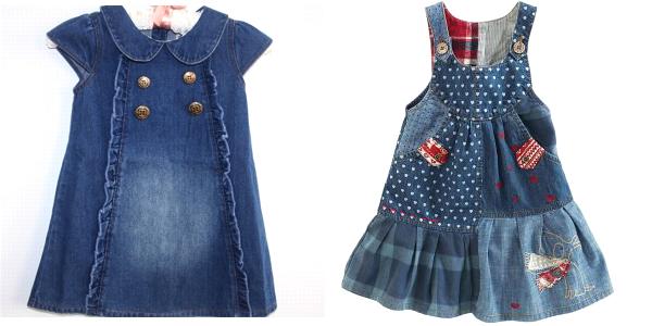 детские джинсовые платья 2