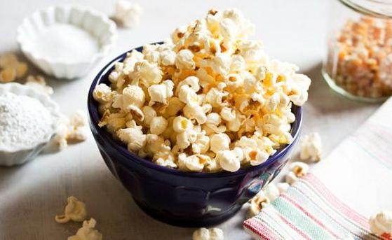 как приготовить из кукурузы попкорн