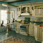 Кухня цвет слоновой кости глянец