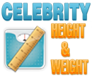 Celebrities height and weight 2012