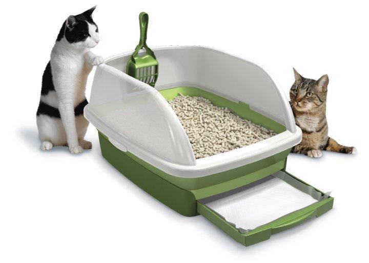 Привлекательный и удобный лоток для кошек
