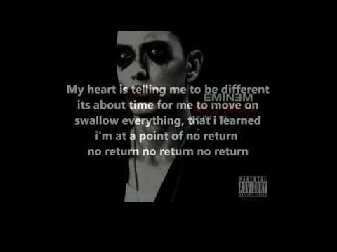No return eminem lyrics