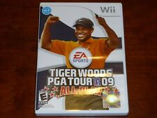 Tiger Woods PGA Tour 09 All-Play Nintendo Wii New Sealed
