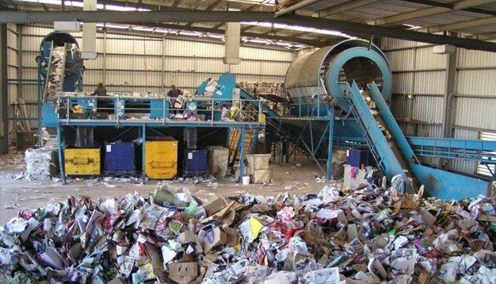 Мини завод по утилизации мусора