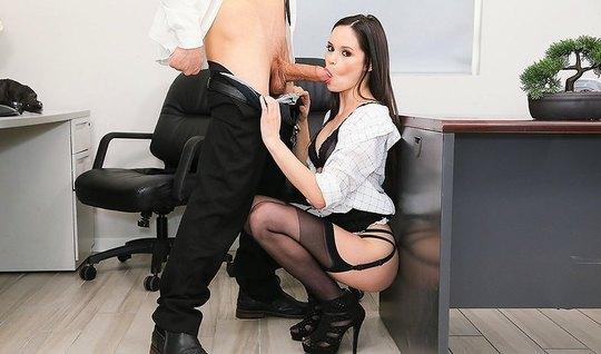 Порево секретарша