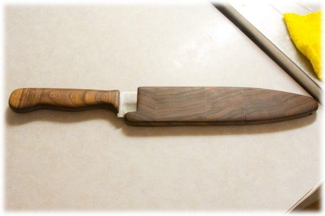 Изготовление кухонного ножа